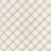 Grandma's Kitchen- Tan Plaid Paper