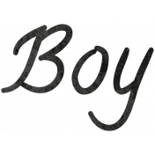 Tiny, But Mighty Boy Word Art