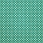Tiny, But Mighty- Light Teal Dot Fabric Paper