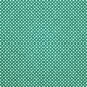 Tiny, But Mighty- Medium Teal Dot Fabric Paper