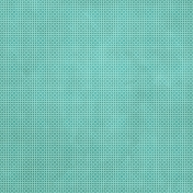Tiny, But Mighty- Medium Teal Flower Dot Paper