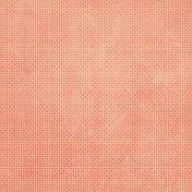 Tiny, But Mighty- Medium Orange Flower Dot Paper