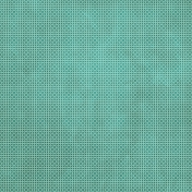 Tiny, But Mighty- Dark Teal Flower Dot Paper