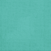 Tiny, But Mighty- Medium Teal Solid Fabric Paper