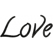 Tiny, But Mighty Love Word Art