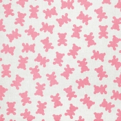 Tiny, But Mighty Pink Teddy Bears Paper