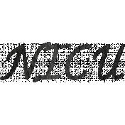Tiny, But Mighty NICU Word Art
