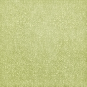 Tiny, But Mighty Green Floral Fabric Paper