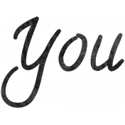 Tiny, But Mighty You Word Art