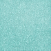 Tiny, But Mighty Teal Floral Fabric Paper