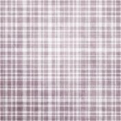 Be Mine- Purple Plaid Fabric Paper