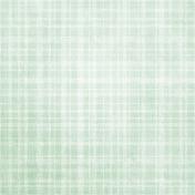 Be Mine- Mint Plaid Fabric Paper