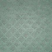 Be Mine- Mint Damask Fabric