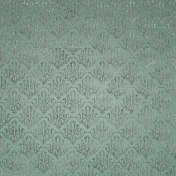 Be Mine- Mint Damask Fabric