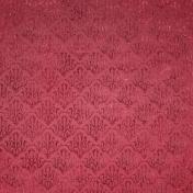 Be Mine- Dark Pink Damask Fabric