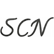 Tiny, But Mighty SCN Word Art