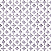 Quilted With Love- Vintage Purple Cathedral Window Paper