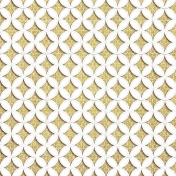 Quilted With Love- Vintage Yellow Cathedral Window Paper