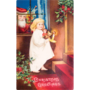 Christmas Memories Postcard 1