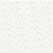 Be Mine Mini Patterned Paper Cutout Hearts- Cream