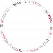 Be Mine Mini Frame- I Fell For You Word Art