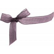 Be Mine Mini Bow- Purple