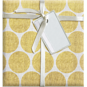 Quilted With Love- Vintage Yellow Dot Fat Quarter