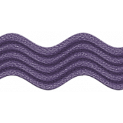 Quilted With Love- Purple Ric Rac Ribbon