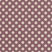 Plum Big Dots Paper