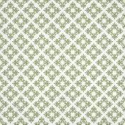 Olive Ornamental Paper