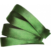 Satin Ribbon Leaf 01