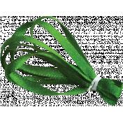 Satin Ribbon Leaf 02