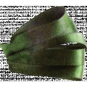 Satin Ribbon Leaf 03