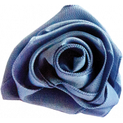 Light Blue Ribbon Rose