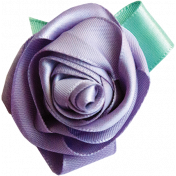 Light Purple Ribbon Rose