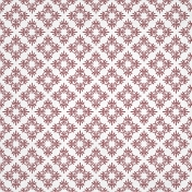 Red Ornamental Paper