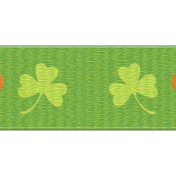 The Lucky One- Green Shamrock Ribbon 2