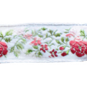 Quilted With Love- Rose Floral Ribbon