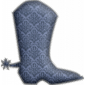 Country Wedding- Stitched Cowboy Boots