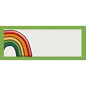 The Lucky One- Rainbow Tag