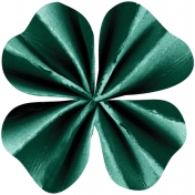 The Lucky One- Shamrock Accordion Flower 3