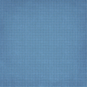 Quilted With Love- Modern Blue Swiss Dot Fabric Paper