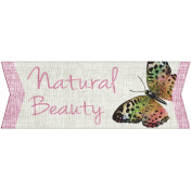 Earth Day- Natural Beauty Word Art