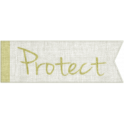 Earth Day- Protect Word Art