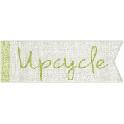 Earth Day- Upcycle Word Art
