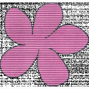 Earth Day Mini- Pink Cardboard Flower