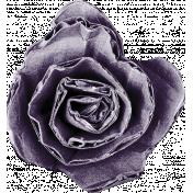 Earth Day Mini- Purple 3D Flower