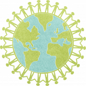 Earth Day- United Globe 2