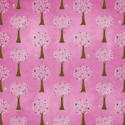 Earth Day- Pink Tree Paper