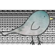 Doodled Bird 01